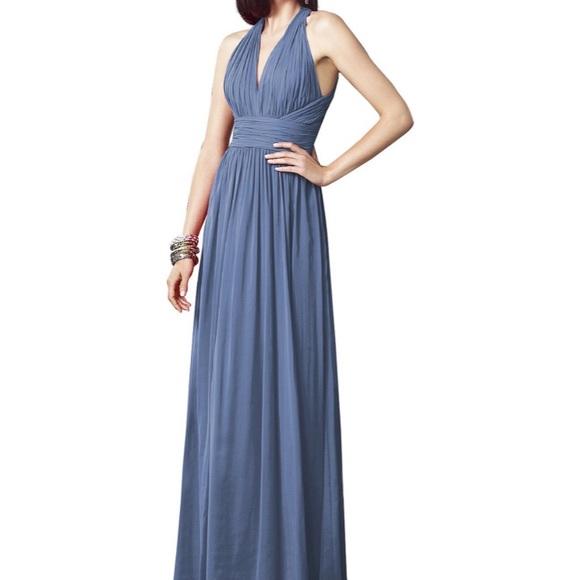 Dessy Collection Dresses & Skirts - Larkspur color bridesmaid dress